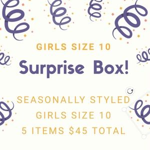 Curated box of our favorite size 10 girls items.